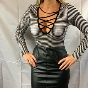 Rolla Coster striped bodysuit
